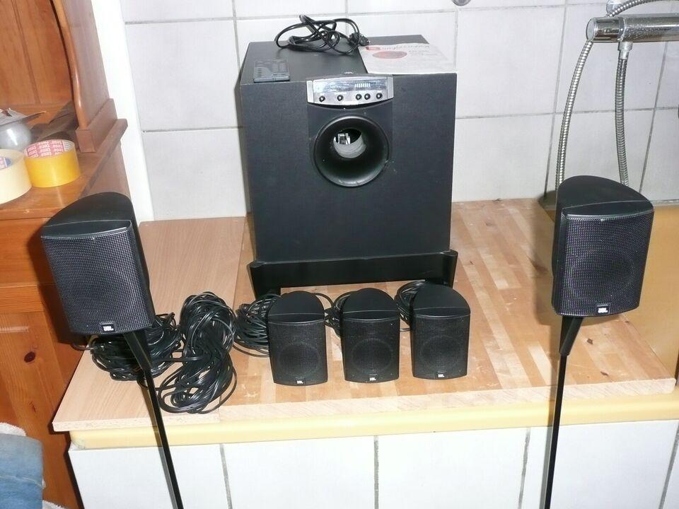 5.1 højttalersæt, JBL