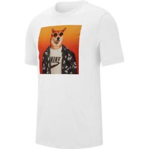 Anestésico liderazgo Trasplante  NEW Men's Nike Sportswear Graphic T Shirt Dog Navy Blue Shiba Inu Tee M L  XL 2XL   eBay