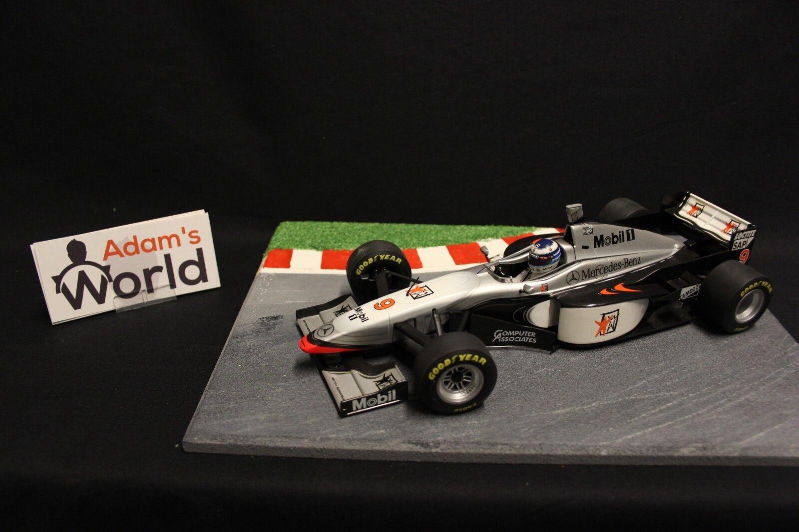 Minichamps McLaren Mercedes MP4-12 1997 1 18  10 David Coulthard (GBR) (F1NB)