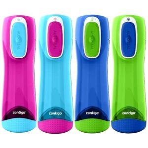 Contigo Trinkflasche Kinder Swish Autoseal Cobalt Blue mit 500ML Fassungsvermöge