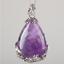 Natural-Quartz-Crystal-Stone-Teardrop-Flower-Healing-Gemstone-Pendant-Necklace thumbnail 13