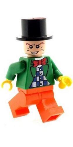 Custom Designed Minifigure - Mad Hatter B Printed On LEGO Parts
