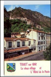 TOUET-sur-VAR-France-Frankreich-Carte-Postale-CPA-1980-Hotel-de-la-Poste