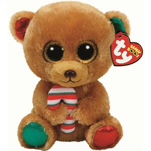Image is loading Ty-Beanie-Babies-37251-Boos-Bella-the-Christmas- 73f6892690a