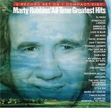 All-Time Greatest Hits by Marty Robbins (CD, Aug-1991, Legacy)