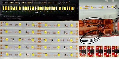 5 Pezzi 100mm Vagone Led Illuminazione Interna Bianco Caldo Kit Anschlußmodul C3203-ng Warmweiß Bausatz Anschlußmodul C3203 It-it Mostra Il Titolo Originale Perfetto Nella Lavorazione