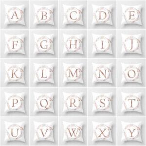 Letter-Polyester-Cushion-Cover-Pillow-Case-Waist-Throw-Home-Sofa-Decor-Eyeful