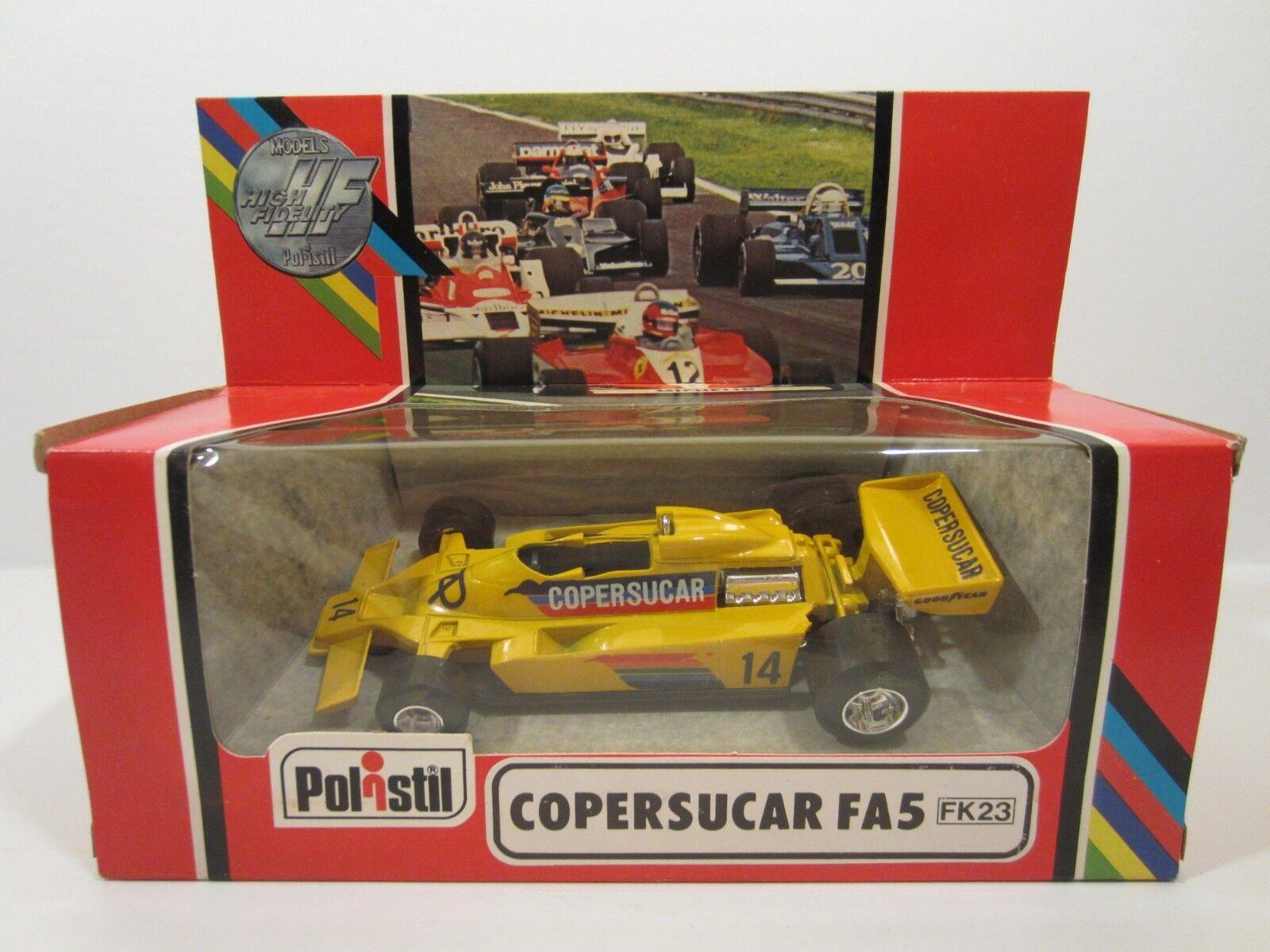 POLISTIL POLITOYS - COPERSUCAR - F1 F5A N 14 1978 E.FITTIPALDI - CODE: FK23 -NEW