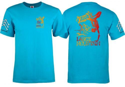 POWELL PERALTA Bones Brigade Lance Mountain Skateboard Tee Shirt Old School T