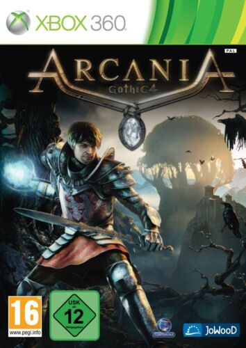 Xbox 360 Game Arcania Gothic IV 4 NIP Package Shipping