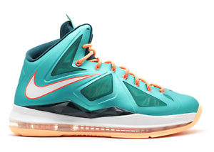 Nike LeBron 10 X Miami Dolphins Size 13. 541100-302 mvp all star cavs