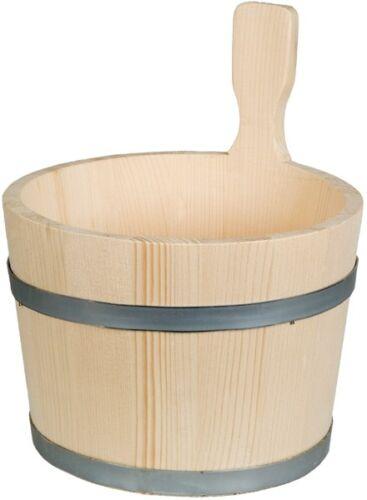 Bottich 2,5 Liter trichterförmig Saunakübel 1 Griff