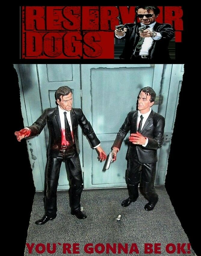 Bloody Set Quentin Quentin Quentin Tarantino, Reservoir Dogs MEZCO azione cifra personaggio FIGURINE 4f9e1d