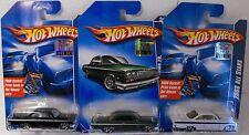 X3-HOT WHEELS 2008   ALL STARS '62 CHEVY FACTORY SET
