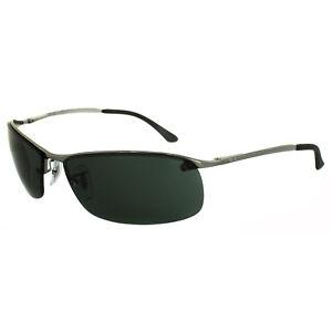 b253b5bb3b0 Image is loading Rayban-Sunglasses-3183-004-71-Gunmetal-Green