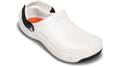 1bc1698fec171e Crocs Mens 15010 Bistro Pro Clog White 12 M US