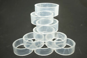 Details about 10Pcs Clear Plastic Display Stand Holder For quartz crystal  sphere ball