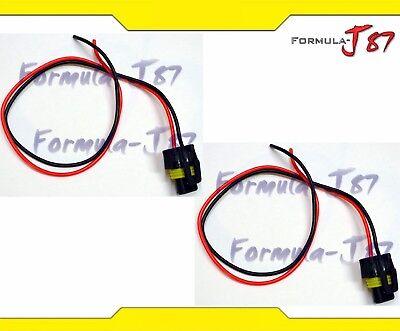 extension wire pigtail female plastic h10 9145 fog light. Black Bedroom Furniture Sets. Home Design Ideas