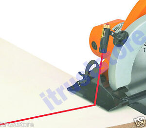 POWER SAW LASER CUTTING PROJECTOR GUIDE 360 DEGREE ROTATING