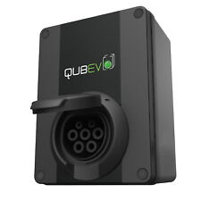 QUBEV - EV CHARGING UNIT   TYPE 2 SOCKET   32 AMP 7.2 KW   IP65   17th Edition