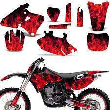 Graphic Kit Yamaha YZF 250/400/426 MX Dirt Bike Stickers Wrap Deco 98-02 ICE RED