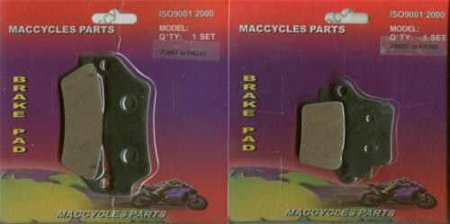 2 sets KTM Disc Brake Pads XC-F450//XC-W450 2008-2014 Front /& Rear