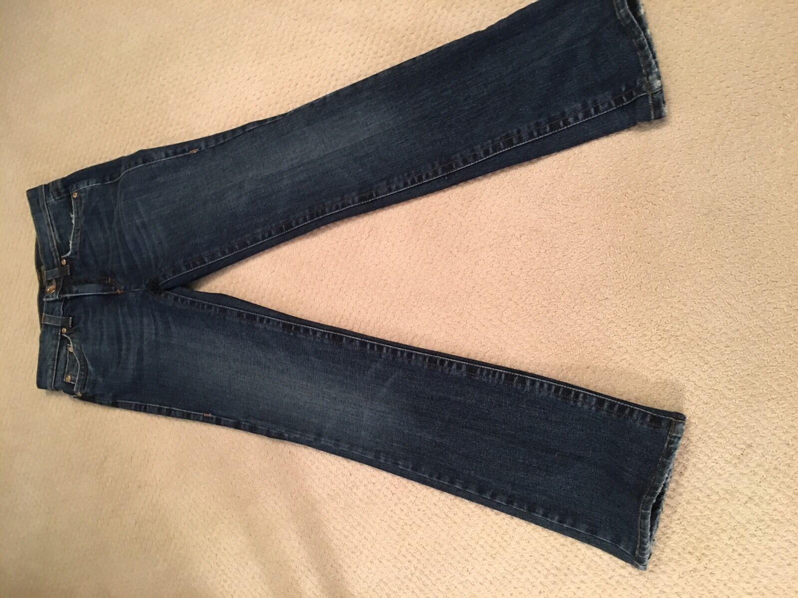 Womens ROBERTO CAVALLI jeans sz 38
