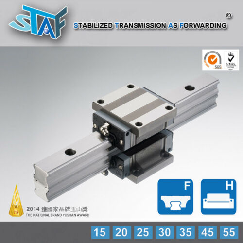 STAF BGXH25FL-N-Z1 25 Type Block with Flange 25mm Block Only