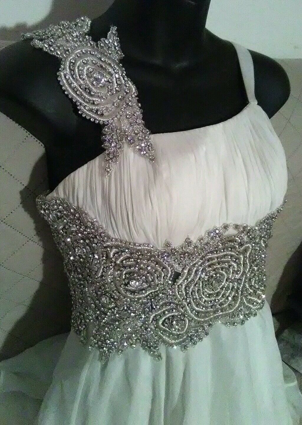 Unique  Sherri Hill Long Evening Dress Gown size 4 for a great price