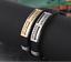 Armband-Edelstahl-Armreif-Silber-Gold-fuer-Herren-Maenner-Schwarz-Damen-Silikon Indexbild 5