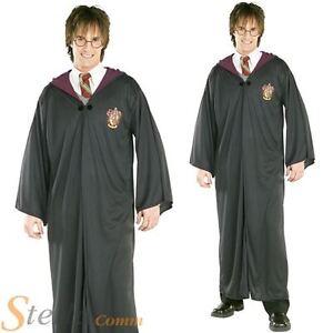 conception populaire ordre recherche d'officiel Details about Mens Official Harry Potter Gryffindor Robe Wizard Halloween  Fancy Dress Costume