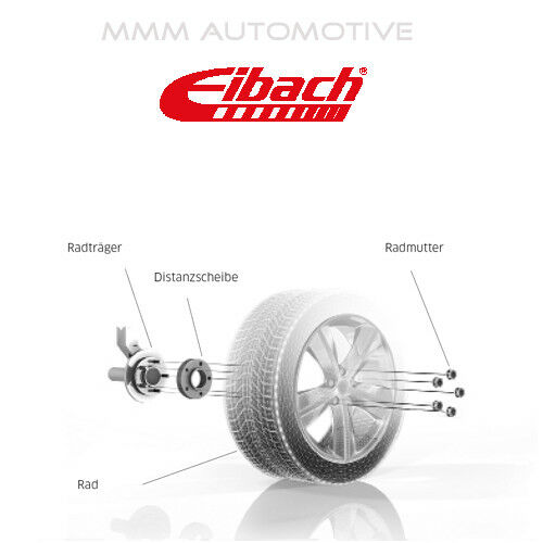 S90-6-10-012 Eibach Spurverbreiterung 20 mm Honda Civic VIII Hatchback FN-FK
