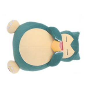 Banpresto Pokemon Sun /& Moon MOGMOG TIME Big stuffed Snorlax 27cm japan limited