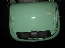 Kate Spade Crossbody Bag Chelsea Park Coastline Jade Green Patent Leather $228-