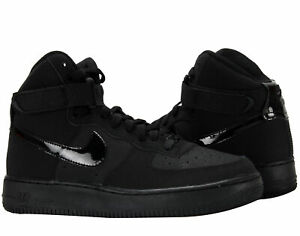 Details about Nike Air Force 1 High (GS) BlackBlack Big Kids Basketball Shoes 653998 001