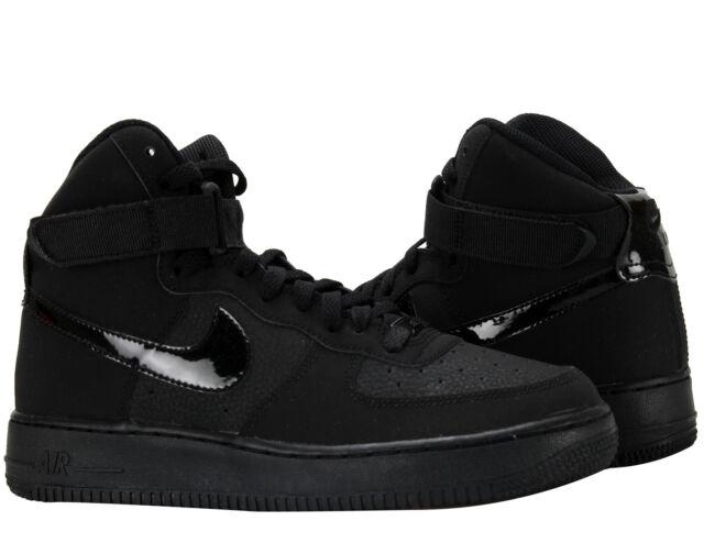 Nike Air Force 1 High (GS) BlackBlack Big Kids Basketball Shoes 653998 001