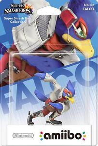 AMIIBO-FALCO-SUPER-SMASH-BROS-COLLECTION-No-52-NINTENDO-STAR-FOX