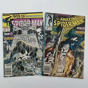 Kravens-Hunt-Part-4-amp-5-Web-of-Spider-Man-32-Amazing-Spiderman-294-Marvel