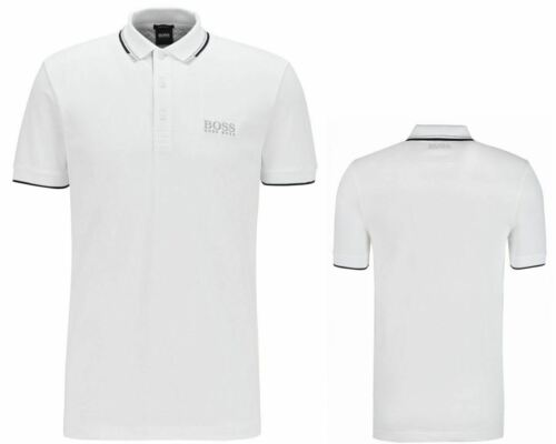 Details about  /Hugo Boss Paddy Pro 50326299 100 Regular Fit Polo Shirt White