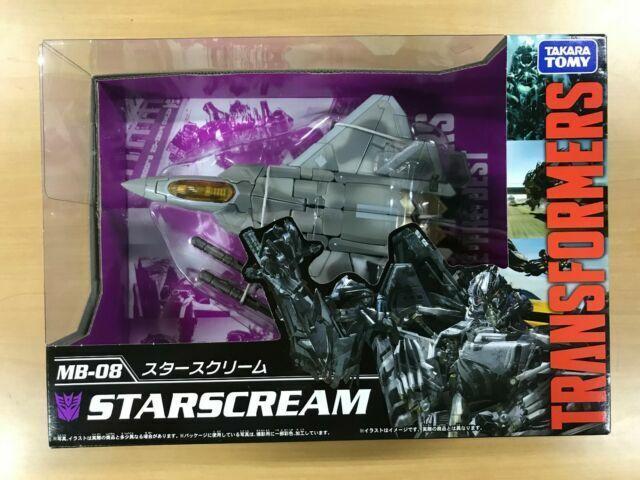 TAKARA TOMY TRANSFORMERS MOVIE THE BEST MB-08 STARSCREAM Figure