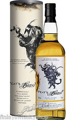 (48,50€/L) Peat's Beast Islay Malt Whisky 0,7 L