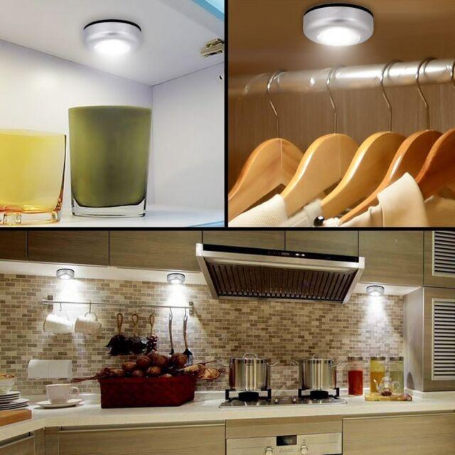 Push Light Self Adhesive Led Touch Lamp