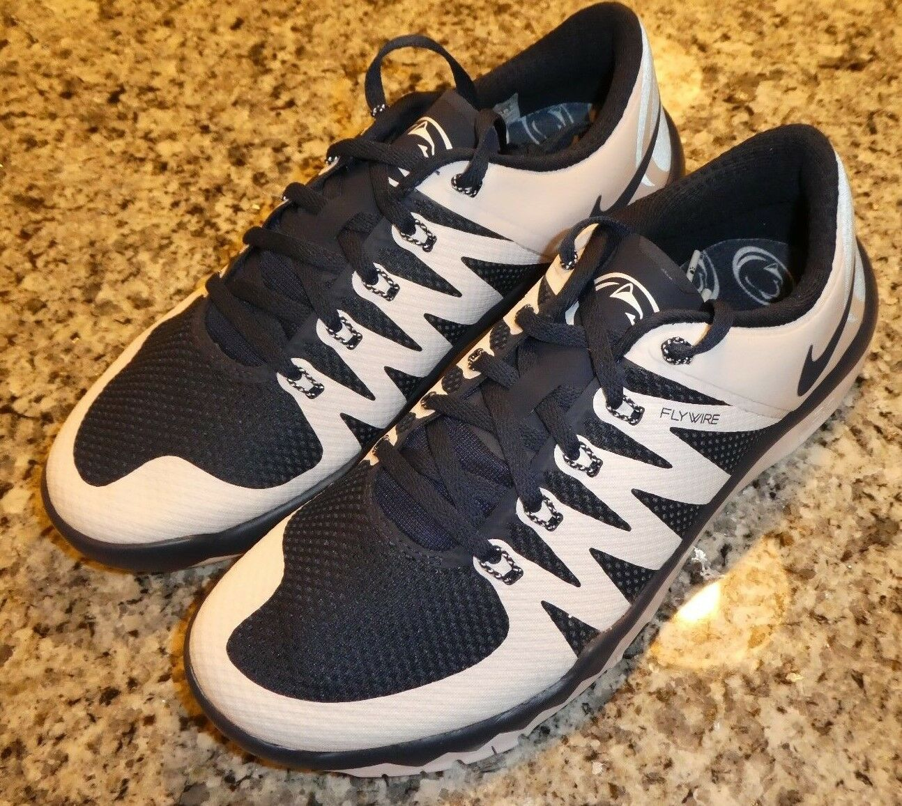 Nike Trainer Free 5.0 V6 AMP shoes Sneakers New 723939 410 size 15 Penn State