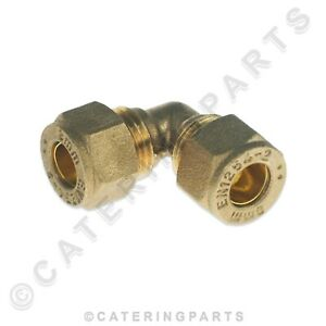 BRASS-8mm-COMPRESSION-ELBOW-FITTING-GAS-COPPER-PIPE-EQUAL-CONNECTOR-COUPLER