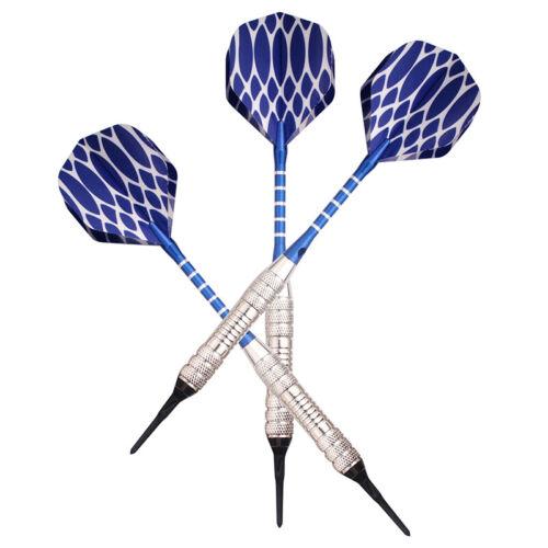 3 sets of Soft Tip Darts 19g//pcs Alloy Rod For Electronic Sale Dartboard G4G0