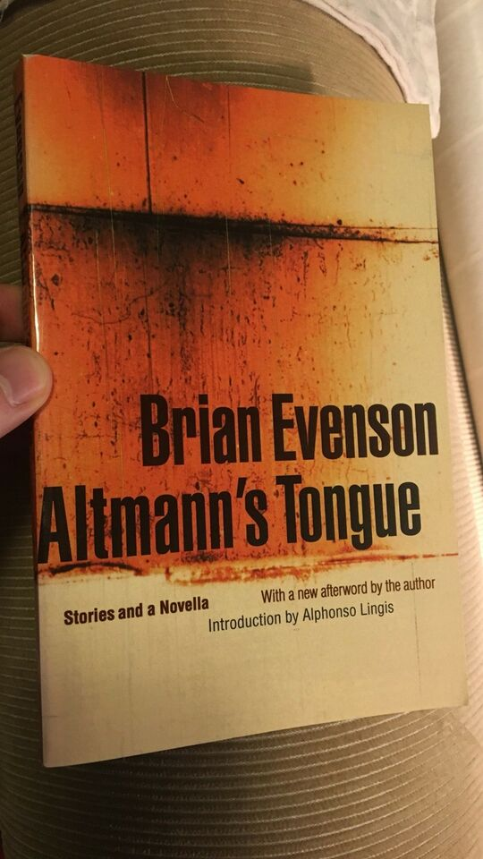 Altman's tongue, Brian Evenson, genre: noveller