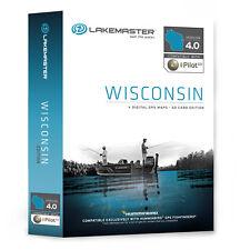 LAKEMASTER HB Chart WISCONSIN SD Card Humminbird 600025-1
