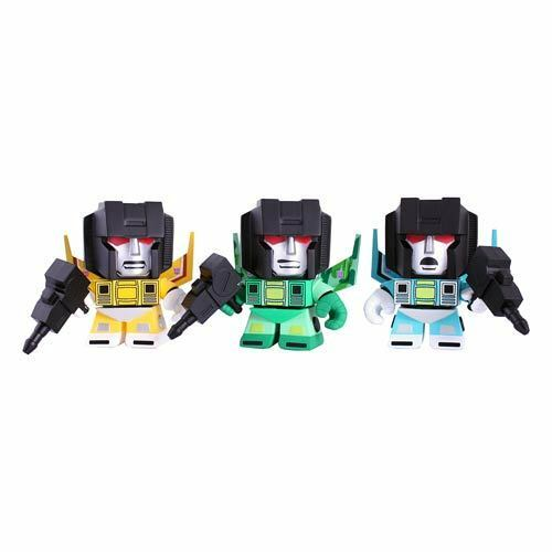 "Transformers Loyal Subjects Rainmakers 3/"" Vinyl figure set of 3 New instock"