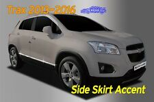 Side Skirt Accent Door Garnish Chrome Molding B768 6P for Chevy TRAX 2013 ~ 2016