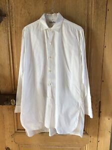 Chemise blanche vintage 38,unisexe